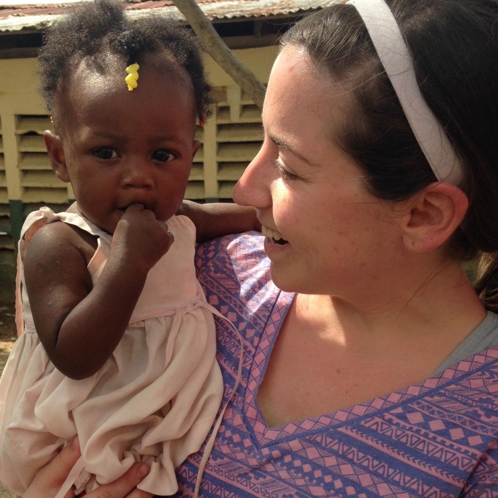 Haiti baby