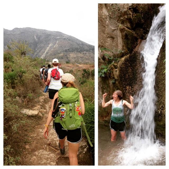 Haiti waterfall