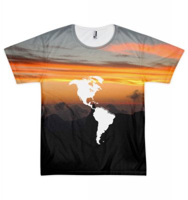 "BTP ""The Americas"" All-Over Sunset Tee"