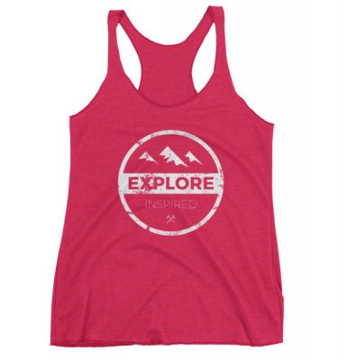 Explore Inspired Ladies Logo Tank
