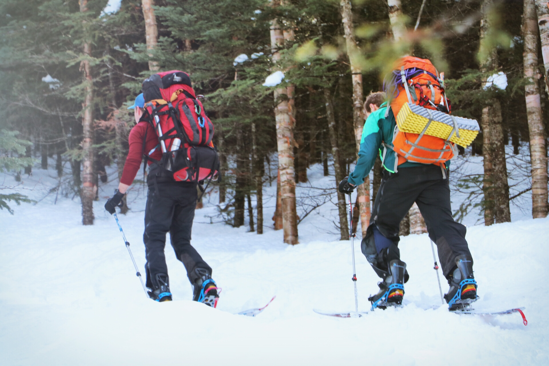 A Splitboard Expedition in the Adirondacks High Peaks