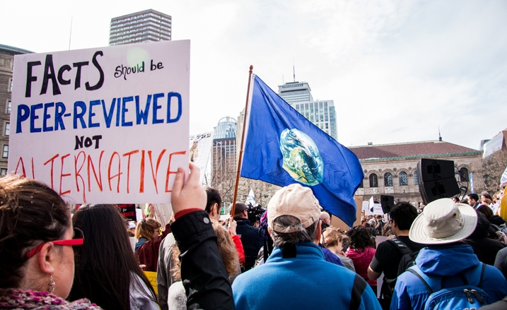 "Stand for the Environment at the Nationwide ""March for Science"" This Earth Day"