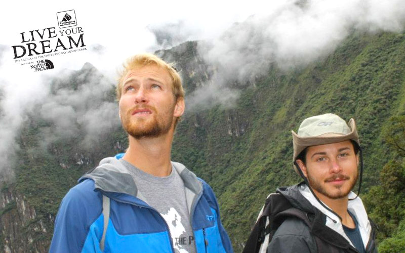 Ryan Sarka and Jonathan Ronzio of Between The Peaks Awarded American Alpine Club Live Your Dream 2017 Grant