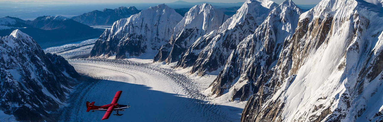 Talkeetna Air Taxi On Board As Official Glacier Flight Provider for Between The Peaks Expedition Denali