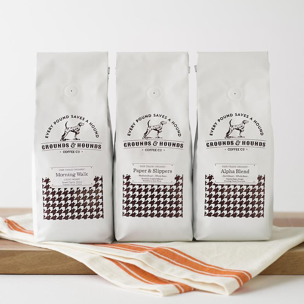 Grounds & Hounds Three Blend gifts