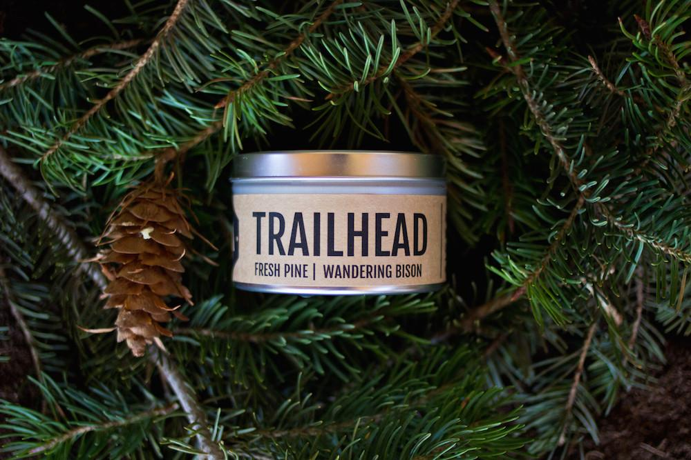 Wandering Bison Trailhead Candle gifts