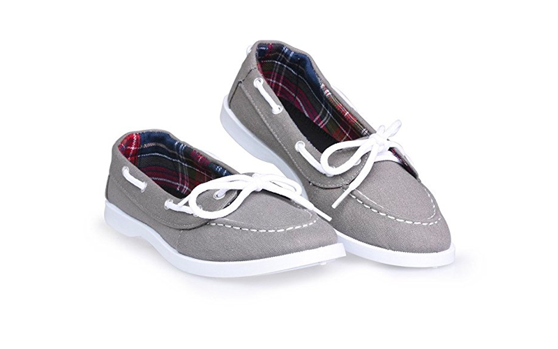 569daff74f45a1 These are the Twisted Women's Bonnie Casual Fashion Boat Shoe, and they are  less than $15 on Amazon. Alexandria is a huge advocate for cheap canvas boat  ...